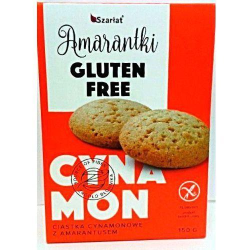 Amarantki - ciastka cynamonowe z amarantusem - bezglutenowe 150g Szarłat, 2351