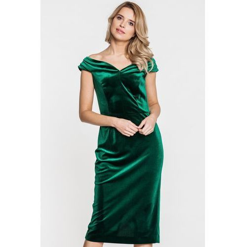 a7de6fdf3e Welurowa sukienka wieczorowa – Studio Mody Francoise