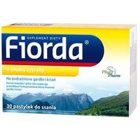 Pastylki Fiorda o smaku cytryny 30 pastylek do ssania