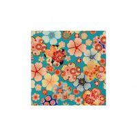 Furoshiki Niebieskie Kwiaty S [ Japonia prezent ]