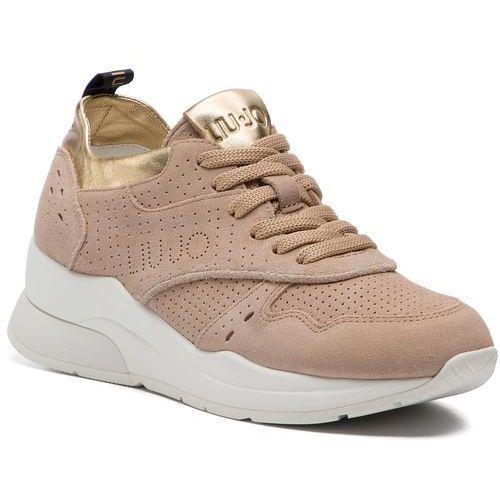 ef4647e76acc8 Sneakersy LIU JO - Karlie 14 B19009 PX025 Sand 01127, kolor beżowy