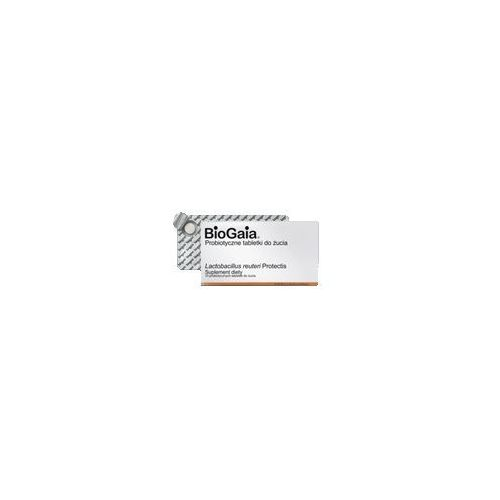 BIOGAIA Probiotyczne tabletki do żucia x 10 sztuk