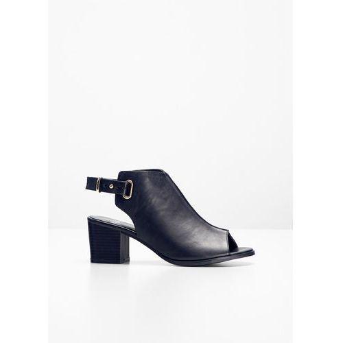 Sandały bonprix czarny, kolor czarny