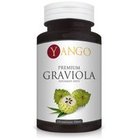 Kapsułki Graviola Premium Yango Annona muricata 350mg x 120 kaps.