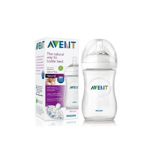 Butelka dla niemowląt Natural 260 ml różowa SCF693/14 Avent