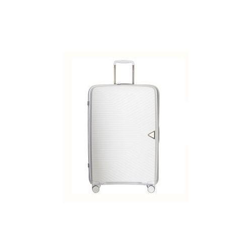 Puccini walizka duża twarda z kolekcji denver pp014 4 koła zamek szyfrowy tsa materiał polipropylen