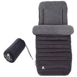 okrycie na nóżki comfi-snug 2w1, black marki Cuddleco