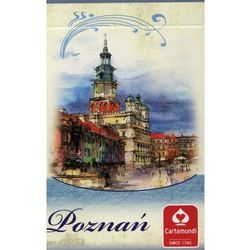 Karty Poznań Akwarele 55 listków