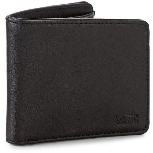 b1aae665a958e Duży portfel męski - drop v bifold w vn0a31j8blk black marki Vans