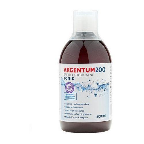 Srebro koloidalne Argentum200 (200 ppm) 500ml