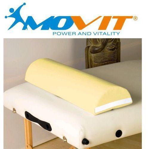 Zagłówek poduszka do masażu MOVIT kremowy