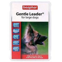 Beaphar Gentle Leader kantar obroża uzdowa dla psa czarna L (5020562025254)
