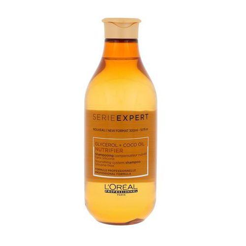 Loreal nutrifier, szampon wzmacniający i nawilżający włosy suche 300ml (3474636506125)