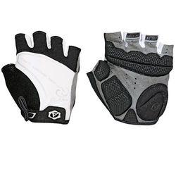 07-130560 rękawiczki rowerowe lady comfort gel czarno-białe s marki Author