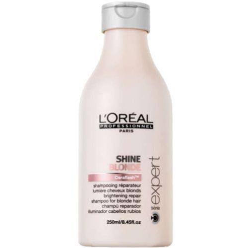 L'Oreal SHINE BLONDE SHAMPOO Regenerujący szampon nabłyszczający do włosów blond (300 ML)