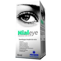 HIALEYE hialuronian sodu 0,2% krople do oczu 10 ml (8032668870253)