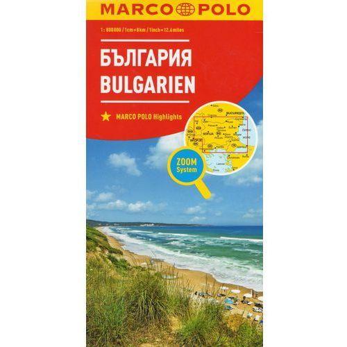 Marco Polo Mapa Samochodowa Bułgaria 1:800 000 Zoom, praca zbiorowa