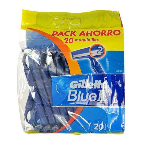 Gillette blue ii 10szt m maszynka do golenia