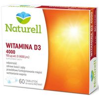 Witamina D3 4000j.m x 60 tabletek do ssania