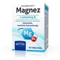 Magnez z witaminą B6 DIAGNOSIS