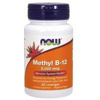 Methyl B-12 5000mcg (5mg) 60kaps Metylokobalamina + Kwas foliowy