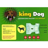 King Dog Pieluchy pampersy dla psa M 12 sztuk