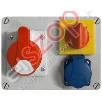 ROZDZ.R-BOX 190 16A/5P 1X250V (0/1) (5905793080268)