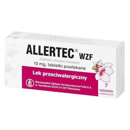 Tabletki Allertec Wzf