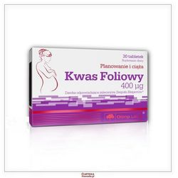 Tabletki OLIMP Kwas foliowy 400mcg tabl. 0,4 mg 30 tabl.