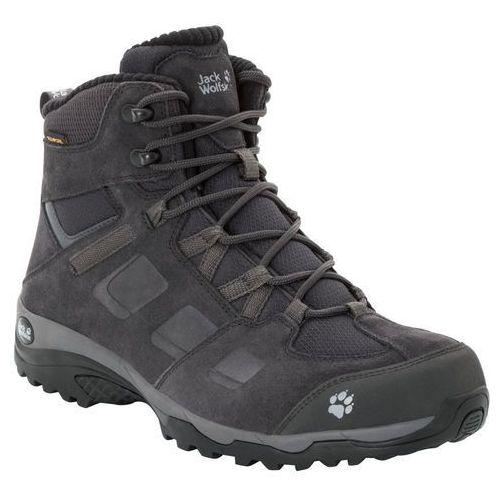 Jack wolfskin Buty trekkingowe męskie vojo hike 2 wt texapore mid m phantom / dark steel - 6,5