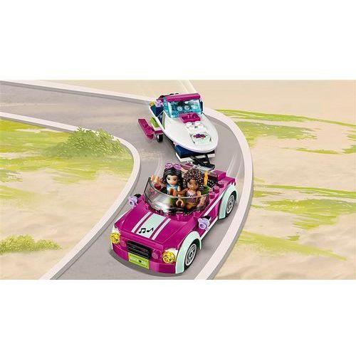 Lego FRIENDS Transporter motorówek andrei andrea's speedboat transporter 41316