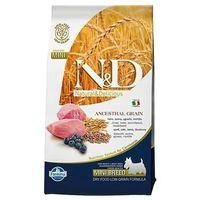 N&d low grain lamb&blueberry adult mini dog 7kg marki N&d super premium