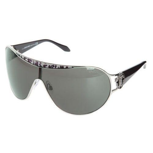 Roberto Cavalli Marotiri Okulary przeciwsłoneczne Czarny Srebrny UNI