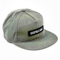 czapka z daszkiem SUPRA - Mark Patch Snap Olive (303)