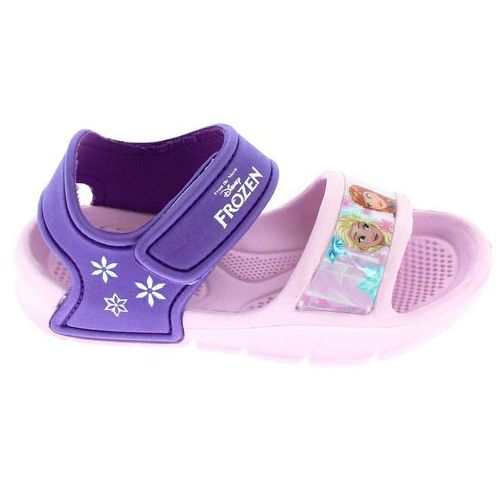 Sandały dziewczęce frozen 28 różowefioletowe (Disney by Arnetta)