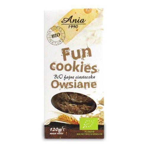 Ciasteczka owsiane fun cookies bio 120g marki Bio ania