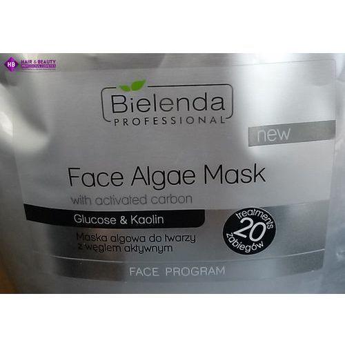 Bielenda profesjonalna maska algowa do twarzy z węglem aktywnym 520g