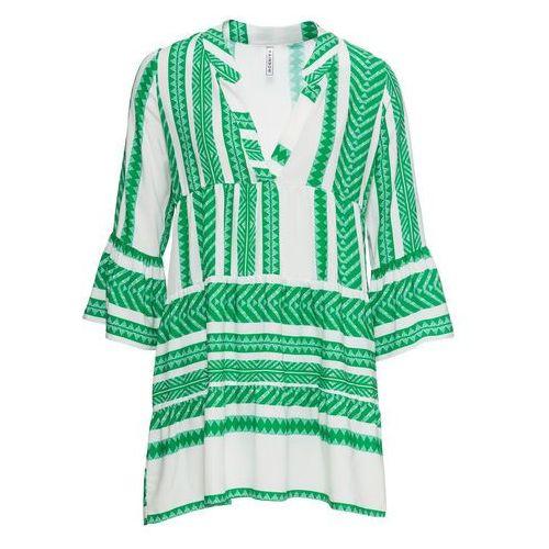 Sukienka z aplikacjami szary marki Bonprix