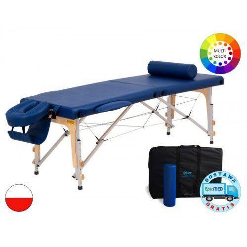 Składany stół do masażu premium alu z regulacją wysokości marki Mov