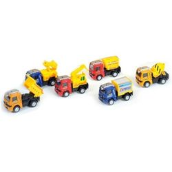 Auto ciężarowe plastikowe. 324131 - MEGA CREATIVE