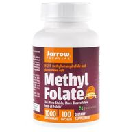 Jarrow Formulas Methyl Folate (Folian) 1000 mcg - 100 kapsułek