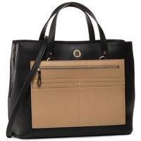 Torebka TOMMY HILFIGER - Charming Tommy Working AW0AW08162 BLK