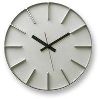Zegar ścienny Edge L aluminium, AZ-0115-AL