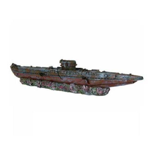 Trixie dekoracja wrak łodzi podwodnej 19cm/51cm