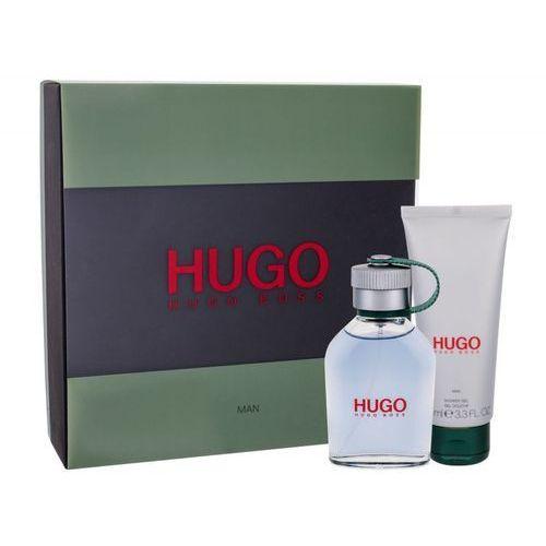 hugo man zestaw edt 75 ml + żel pod prysznic 100 ml dla mężczyzn marki Hugo boss