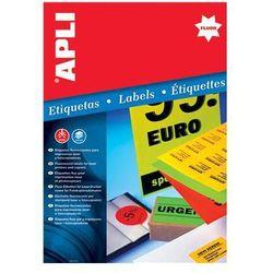 Etykiety biurowe  APLI biurowe-zakupy