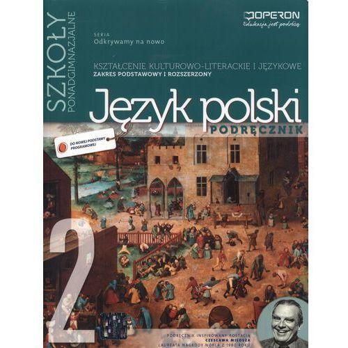 Język Polski 2 Podręcznik Kształcenie Kulturowo-Literackie I Językowe