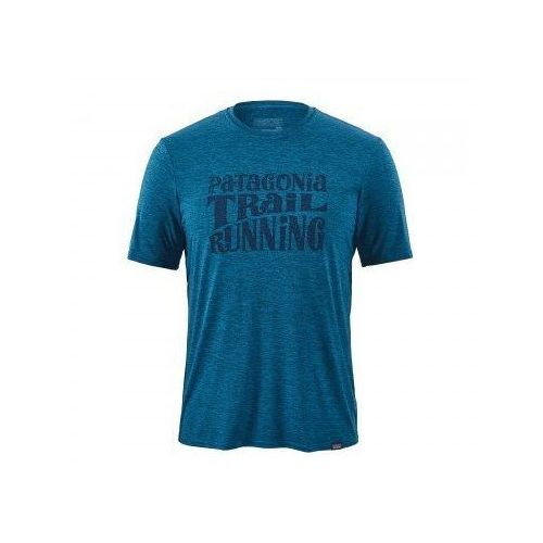 3643b085f PATAGONIA Koszulka męska CAP DAILY GRAPHIC - rozmiar S - kolor modry -  Fotografia