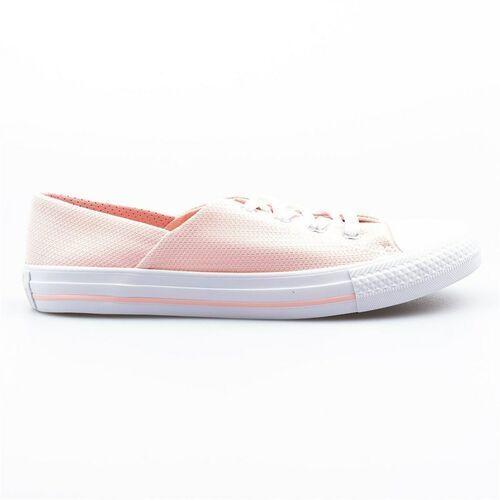 Buty - chuck taylor all star coral vapor pink/vapor pink/ white (vapor pink- wht), Converse