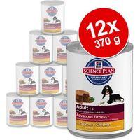 Hills Korzystny pakiet canine, 12 x 370 g - adult, wołowina